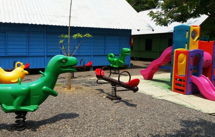 kindergarten building